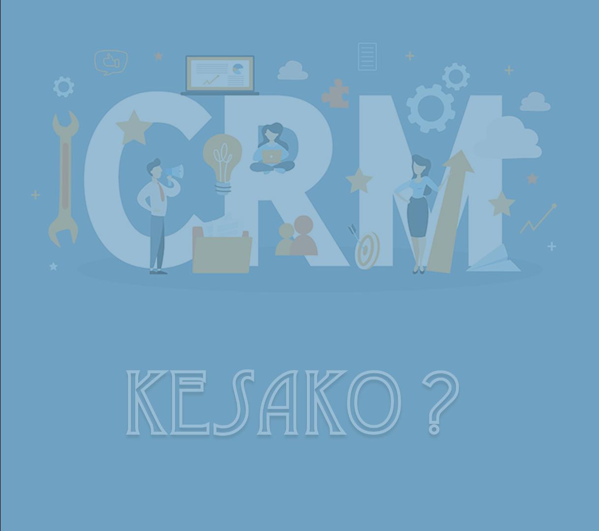 Notre saga de la rentrée : qu'est-ce qu'un CRM ?